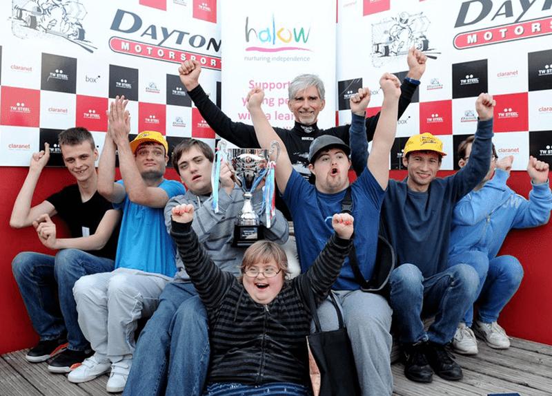 halow race car event