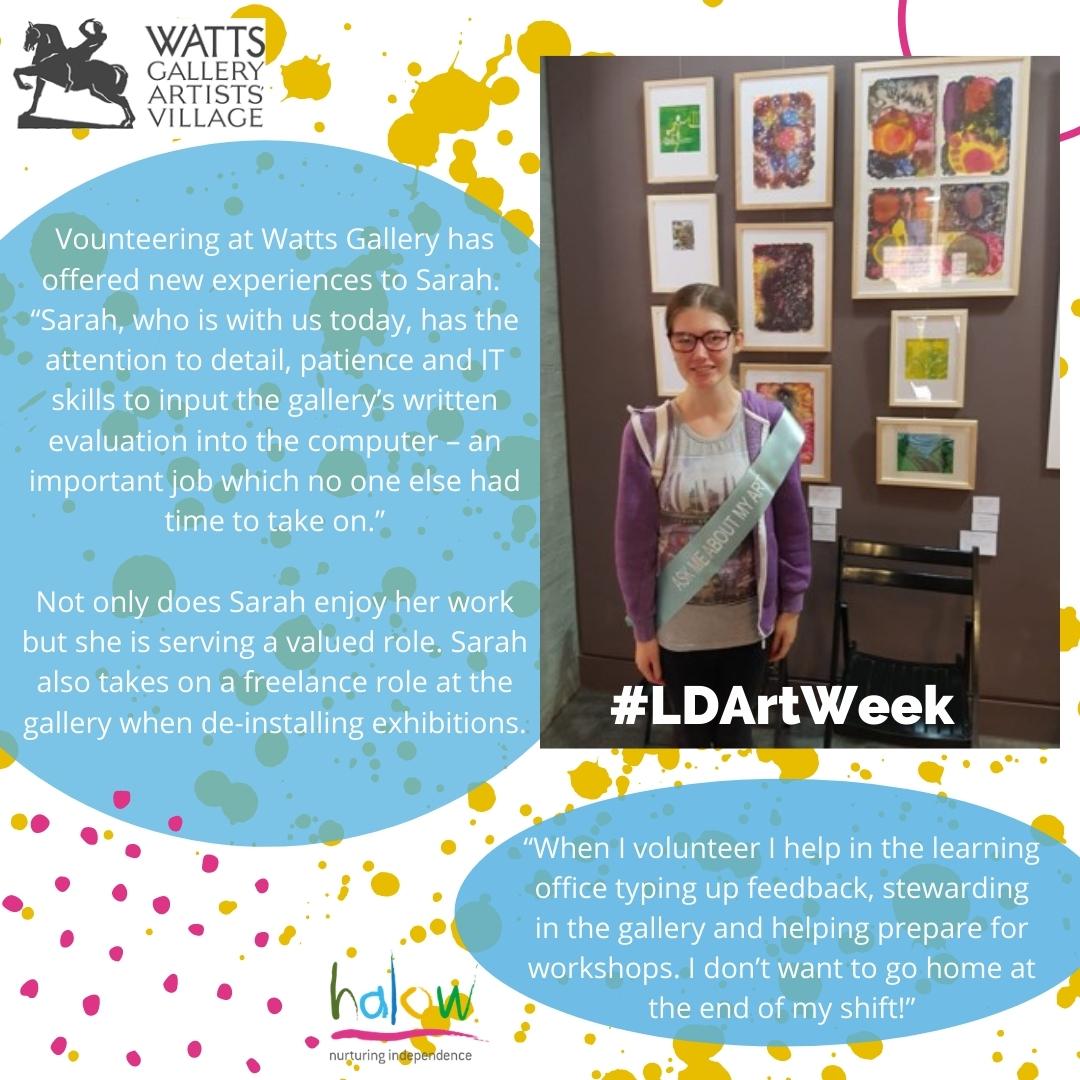 Learning Disability Week: Sarah